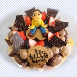 大好きなチョコレートに囲まれて!