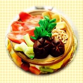 すき焼きケーキ