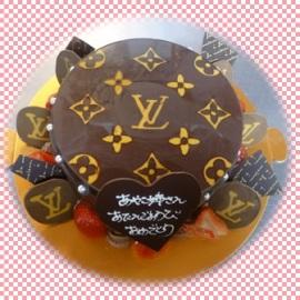 憧れのブランドがケーキに!!